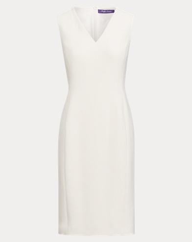 Maury Wool Crepe Sheath Dress