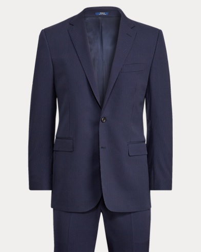 Connery Pinstripe Wool Suit