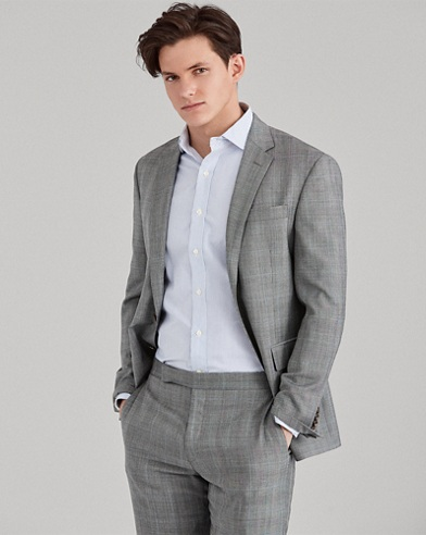 Polo Glen Plaid Wool Suit