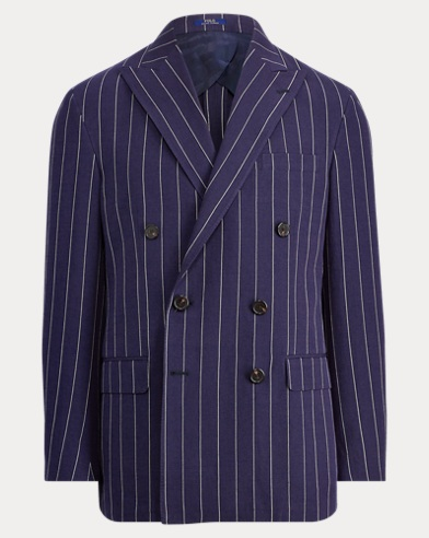 Morgan Striped Suit Jacket