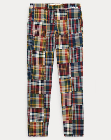 Polo Patchwork Madras Trouser