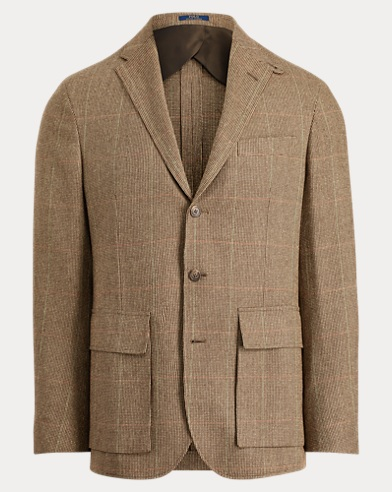 Morgan Tick-Weave Suit Jacket