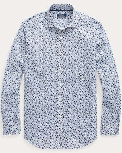 Classic Fit Floral Shirt
