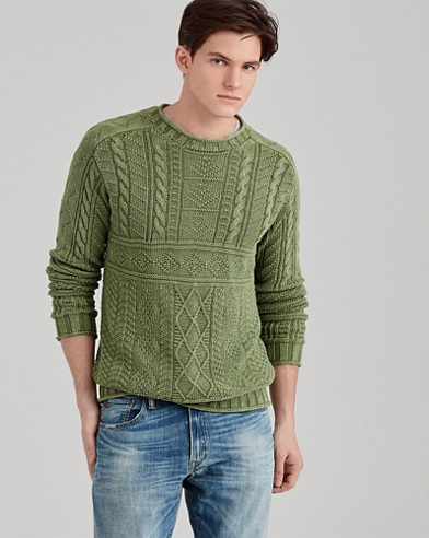 Cotton Fisherman's Sweater