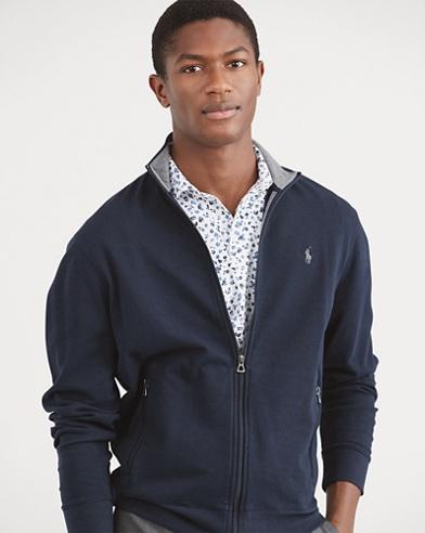 Luxury Jersey Track Jacket
