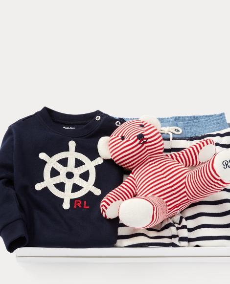 Striped 3-Piece Gift Set