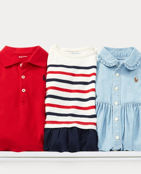 Cotton Dress 3-Piece Gift Set