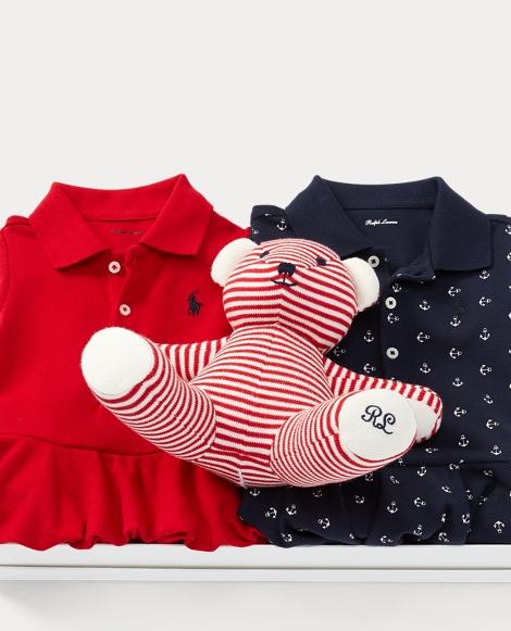 Romper & Bear 3-Piece Gift Set