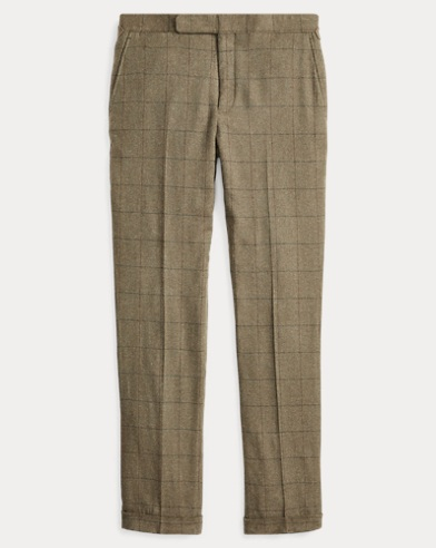 Polo Windowpane Suit Trouser