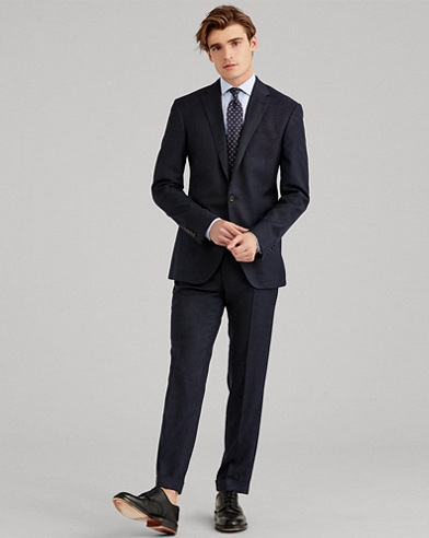 Polo Nail Head Wool Suit