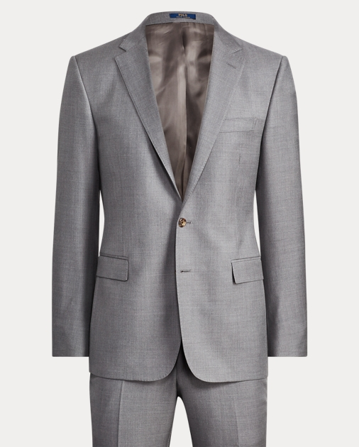 Connery Wool Twill Suit by Ralph Lauren