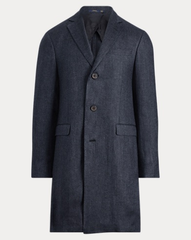 Morgan Linen Twill Topcoat