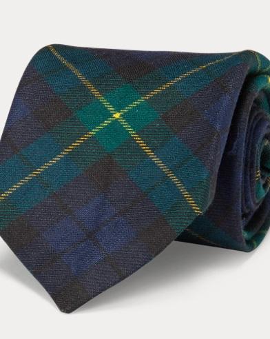 Vintage-Inspired Tartan Tie