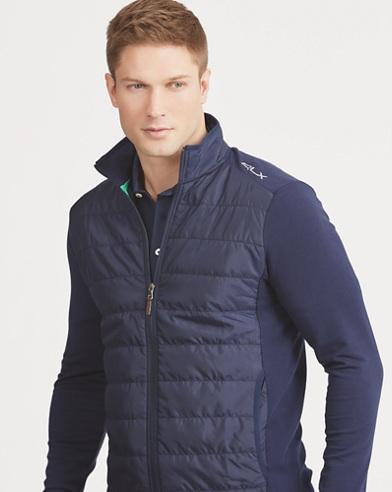 Paneled Stretch Wool Jacket