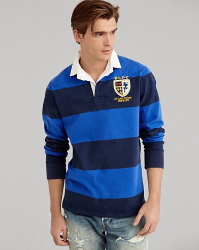 The Iconic Rugby Shirt