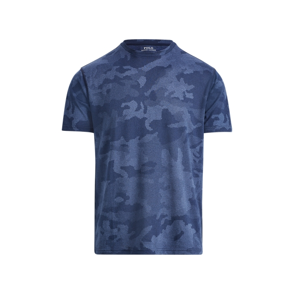 Ralph Lauren Camo Performance T-Shirt Navy Hex Camo S