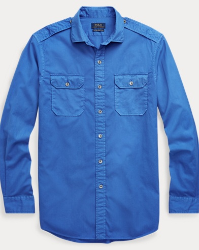 Classic Fit Cotton Twill Shirt