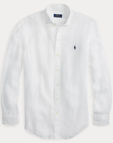 Slim Fit Linen Sport Shirt