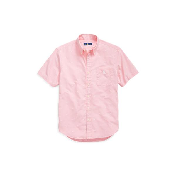 Ralph Lauren Classic Fit Palm Tree Shirt Palm Jacquard Xs