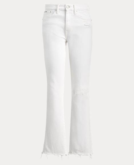 Chrystie Kick-Flare Crop Jean