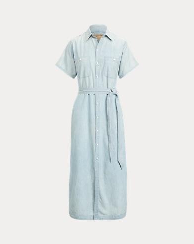 Cotton-Linen Shirtdress