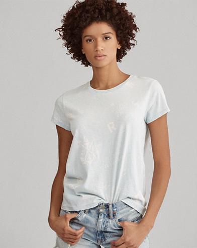 Nautical-Print Cotton T-Shirt