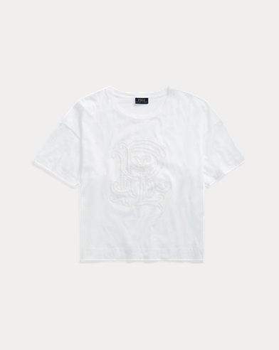 PRL Monogram Cotton T-Shirt