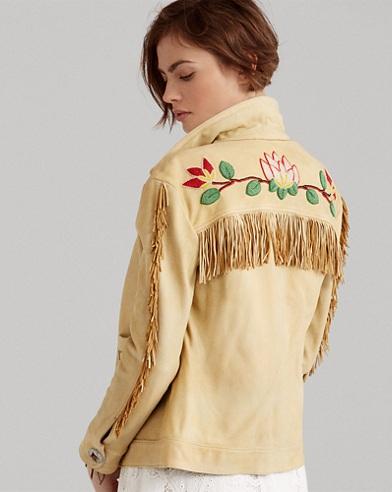 Beaded Fringe Deerskin Jacket