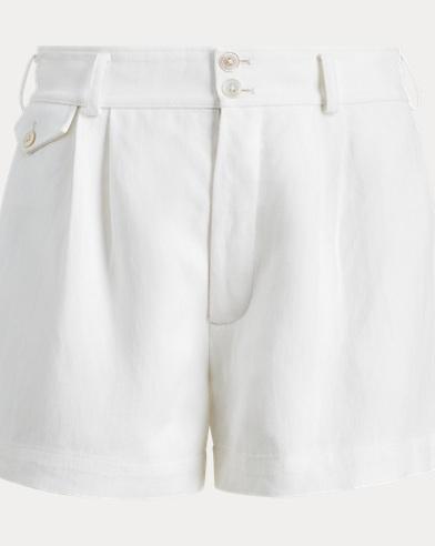 Linen High-Rise Short