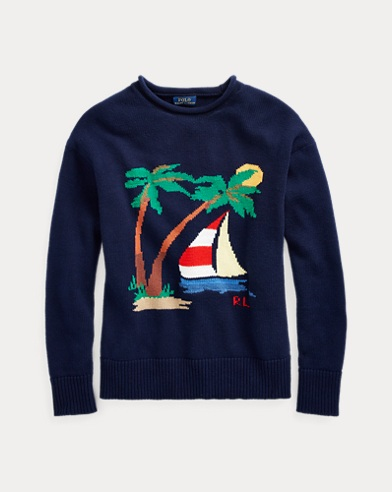 Boat Cotton Rollneck Sweater