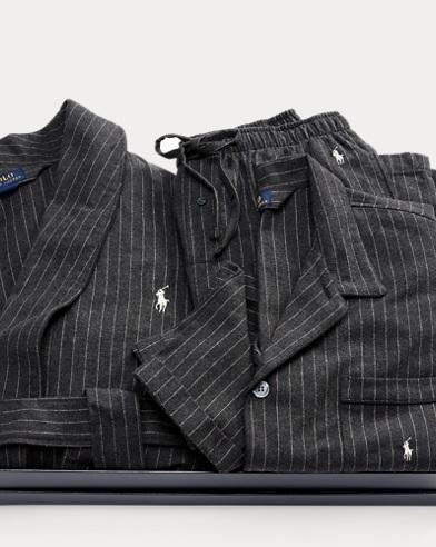 Pinstripe Pajama Gift Set