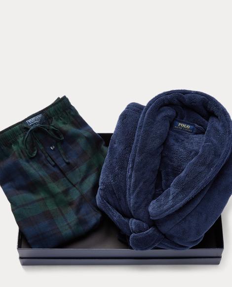 Robe & Pajama Pant Gift Set
