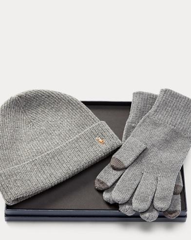 Merino Hat & Gloves Gift Set