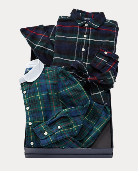 Tartan Dress 2-Piece Gift Set