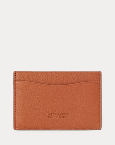 Tumbled Calfskin Card Case