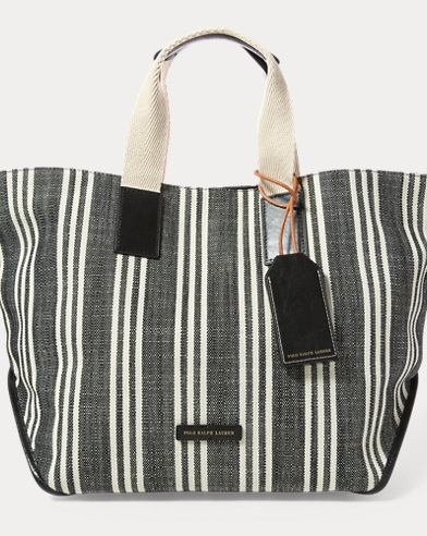 Striped Market Tote