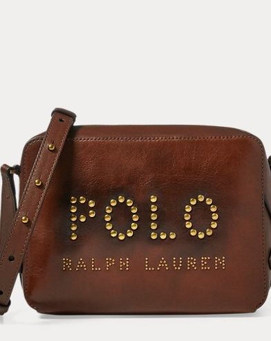 Studded-Polo Camera Bag