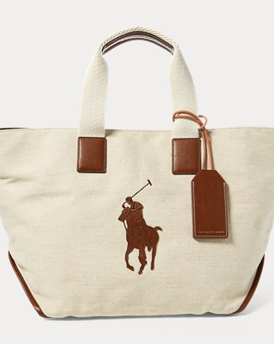Cotton-Jute Big Pony Tote