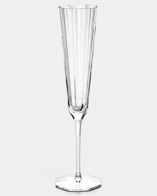 Isabel Crystal Champagne Flute