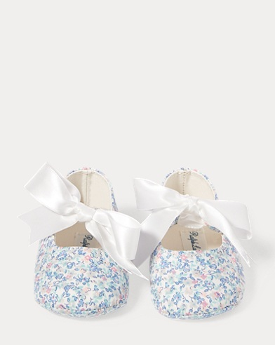 Briley Floral Cotton Slipper