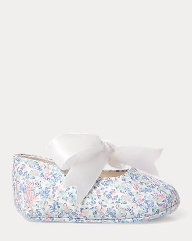 Briley Floral Cotton Slipper