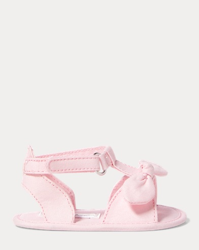 Zoii Cotton Oxford Sandal