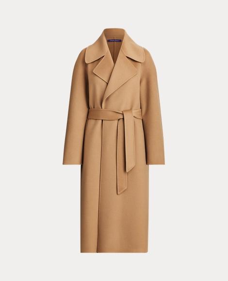 Leonarda Cashmere Wrap Coat