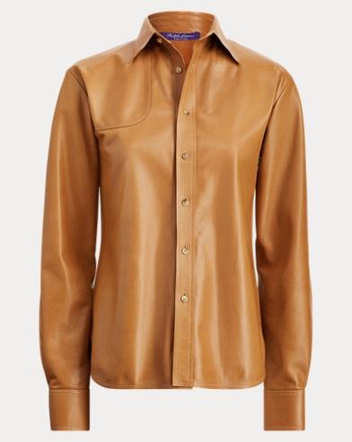 Malory Nappa Leather Shirt