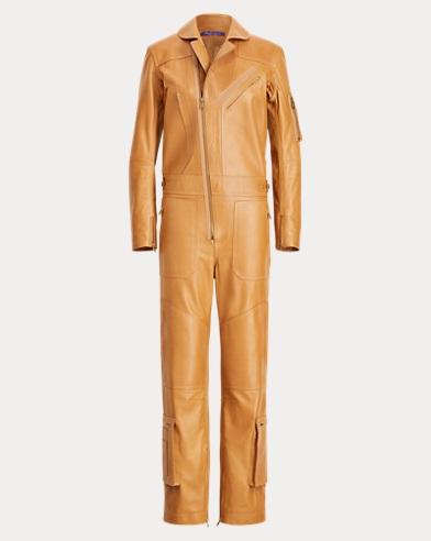 Pancho Leather Flight Suit