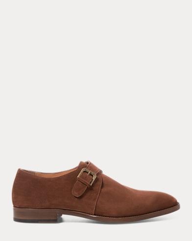 Bevan Suede Monk-Strap Shoe
