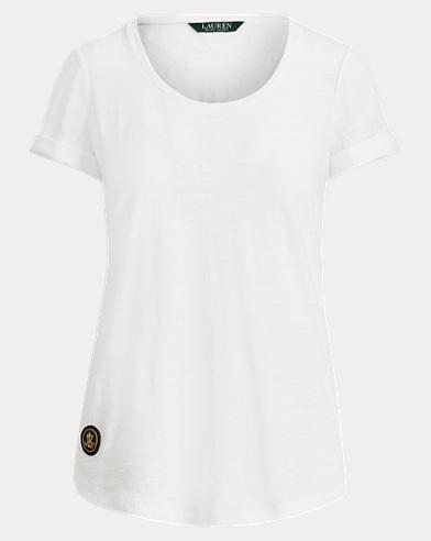 LRL Patch Cotton T-Shirt