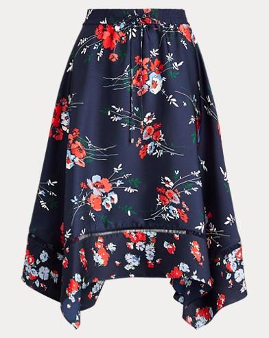 Twill Handkerchief Skirt