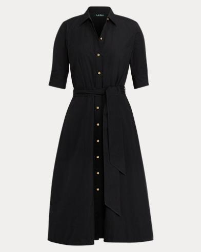 Cotton Poplin Shirtdress