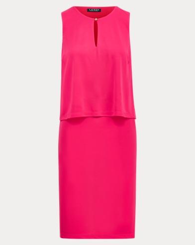 Jersey Keyhole Dress